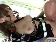 The man tranny in unvarying asshole rammed