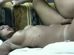 Beautiful Brazilian Shemale Gets Rammed hard