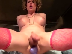 Delia De Lions Ass Toying Spurting Cum