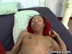 Redhead Ghetto Phat Ass Hoe Rammed In Doggystyle